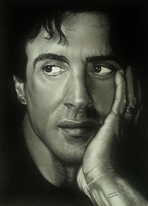 Sylvester Stallone par leandre76
